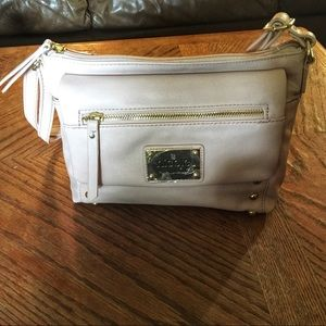 NWT Nicole by Nicole Miller Pale Pink Bag